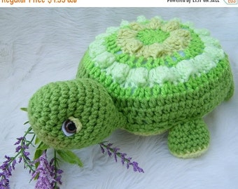 JULY SALE Crochet Pattern Turtle by Teri Crews Wool and Whims Instant Download PDF Format