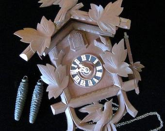 Cuckoo Clock by Hubert Herr - Nice German Clock!