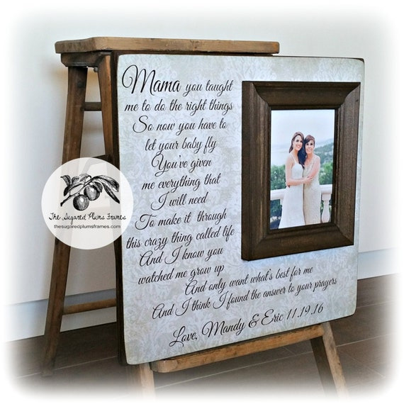 Wedding Gifts For Parents Photo Frames : ... Gifts Guest Books Portraits & Frames Wedding Favors All Gifts