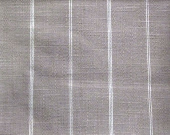 RUSTIC WOVEN linen/beige, cream Stripes multipurpose fabric