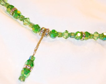 KEYLIME DEVINE Swarovski Crystal Necklace