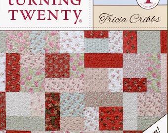 Turning Twenty Original Quilt Pattern  Fat Quarter Friendly multiple sizes