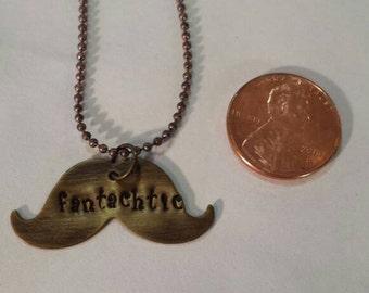 Fantachtic mustache necklace