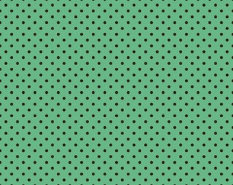 Witch Hazel Green Dot by October Afternoon for Riley Blake, 1/2 yard