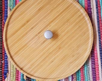Bamboo Platter Upcycled22.-