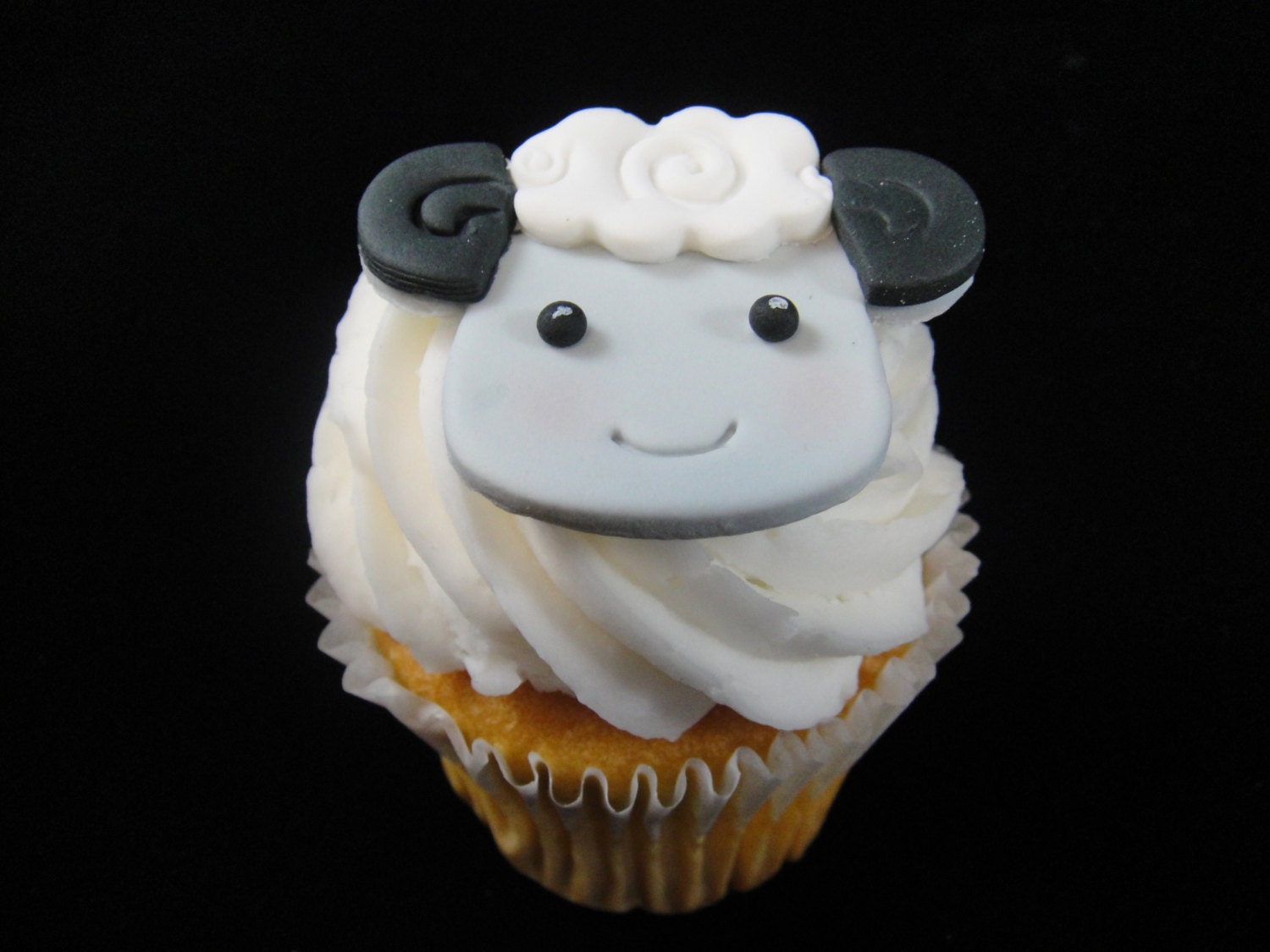 Edible Lamb Cupcake Toppers Sheep Cupcake Topper Edible