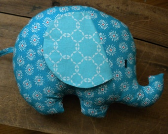 Stuffed elephant:jungle nursery, newborn baby gift, pillow pal,cloth animal,stuffed toy,elephant nursery,baby shower gift,elephant toy