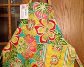 Colorful Tropical Adult Apron