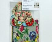 Vintage Wrapping Paper Ephemera Scrap Pack Scrapbook Journal Antique Floral