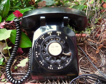 50s/60s Western Electric Rotary Telephone Novelty Antique Decor Phone