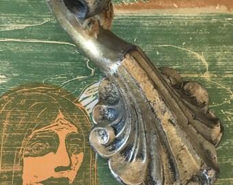 Deco era Chandelier Pan Arm - Cast Brass