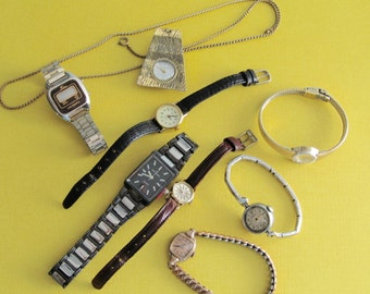 Watches 7 Vintage Timepieces