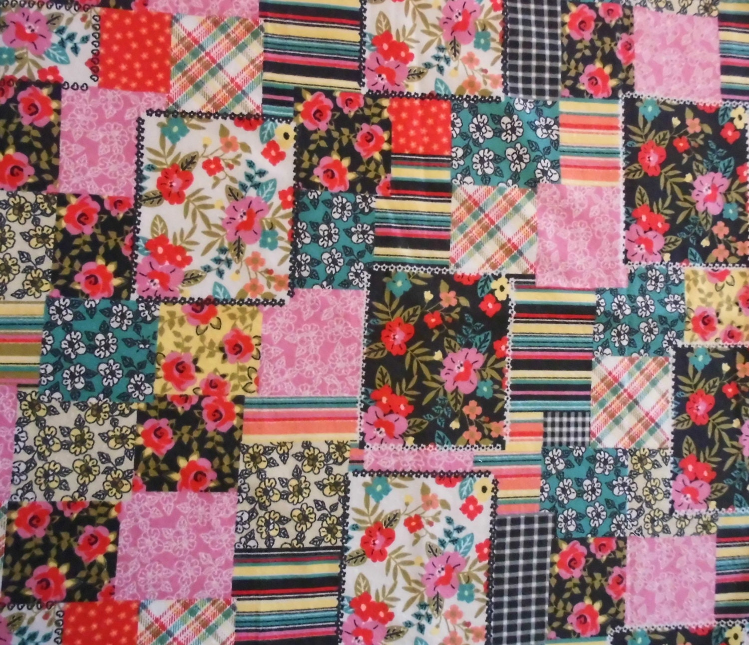 Fabric cotton flannel sewing quilting fabric by the yard for Sewing fabric by the yard