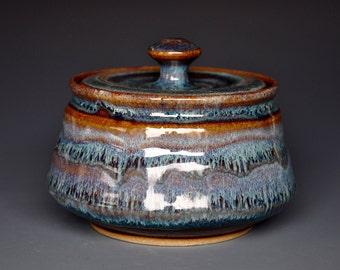 Handmade Jar Stoneware Jar Ceramic Pottery Jar Hand Made    C