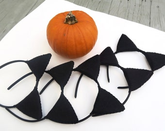 Black Cat Ears Party Pack