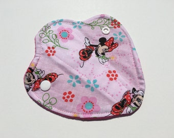 """Thong Liners Cotton Fleece 6"""" Minnie Mouse"""