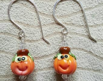 Little Pumpkin Earrings