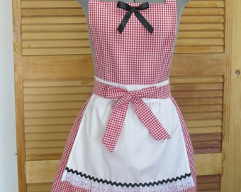 Little Red Riding Hood Costume Apron