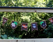 Banner Woodland Animals Baby Shower Birthday MaMa Babies Forest Creatures
