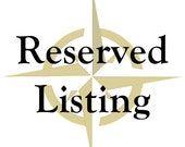 RESERVED Listing for Miriam