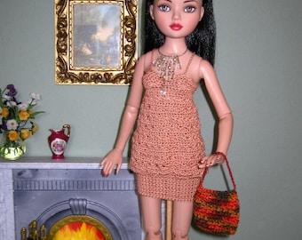 Crochet Pattern For Ellowyne Wilde or Cami Summer Affair by FatCatDesigns