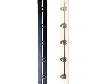"2 sets Corset busk steel boning 10"", 5 buttons, support for corset wedding dresses"