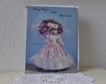 Book: Mary Hoyer and Her Dolls, Knitting, Crocheting and Sewing Projects. Doll History and Doll Illustrations