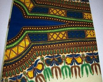 2 yards Pear Green Dashiki fabric per panel/ Dashiki clothing/ Angelina fabric/ Addis Ababa/ Dashiki panels/ Dashiki Shop