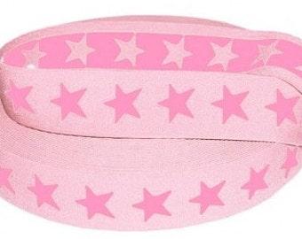 Elastic Tape 40mm Light pink