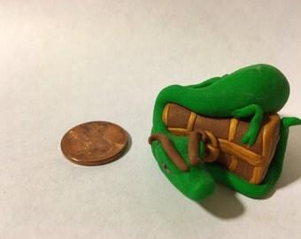 Dragon Protecting Treasure