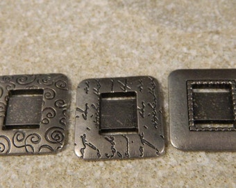 Metal Ribbon Embellishments for Mixed Media, Altered Art, Steampunk Art