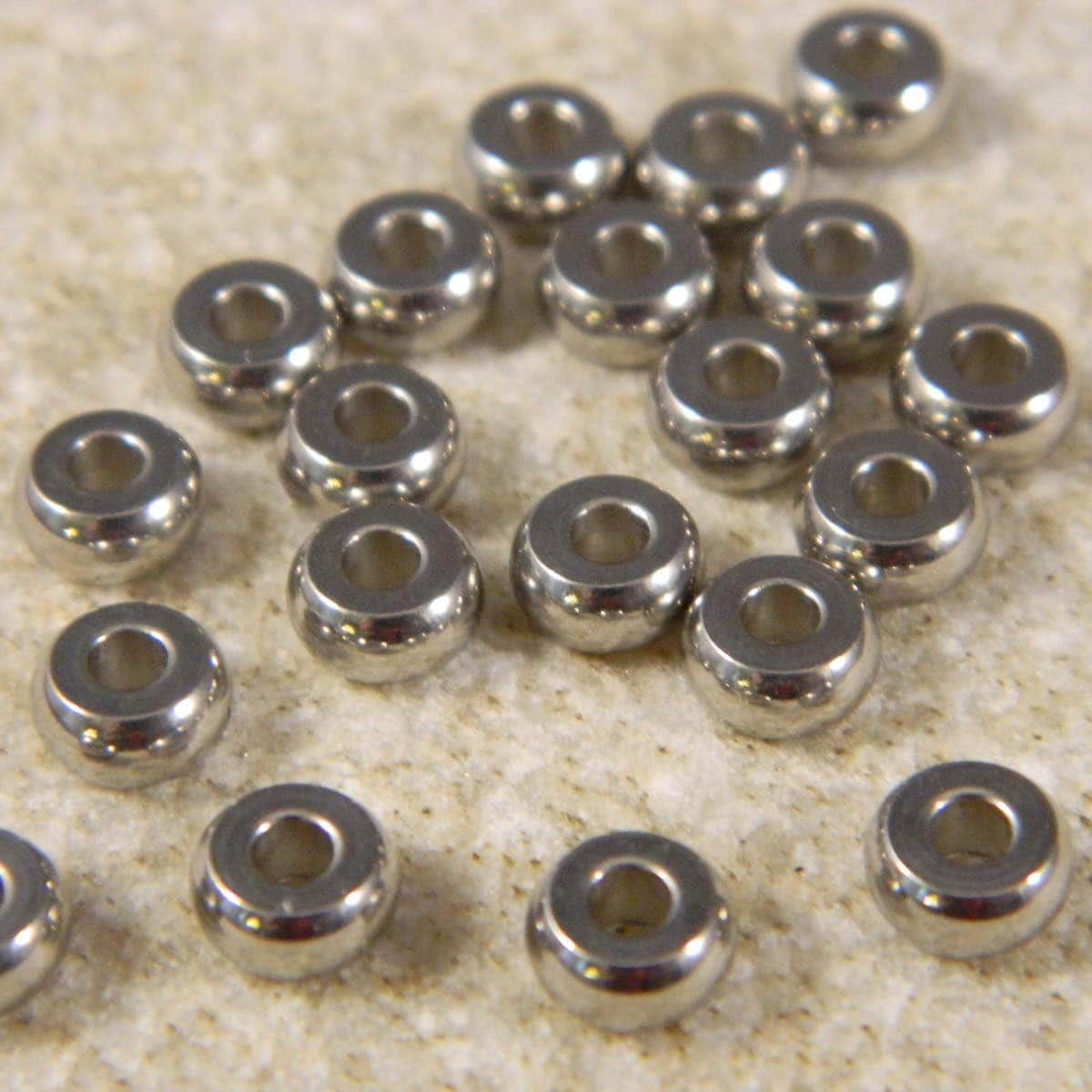 6x3mm stainless steel 10qty