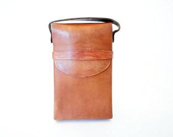 Vintage Brown SX-70 Polaroid Camera Carry Case