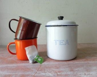 VIntage Kockums Tea Canister