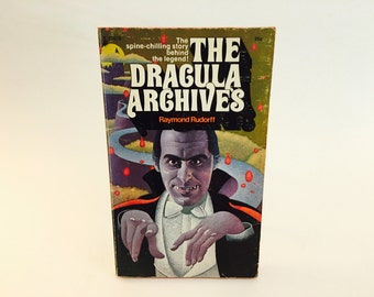 Vintage Non-Fiction Book The Dracula Archives by Raymond Rudorff 1973 Paperback