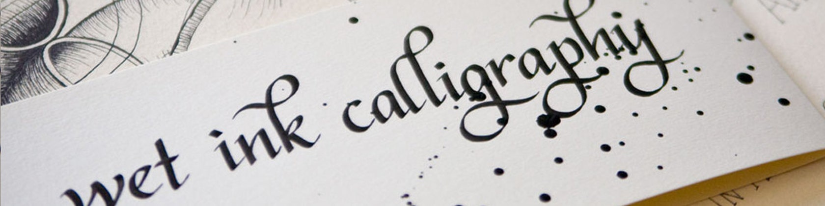 Wet Ink Calligraphy By Wetinkcalligraphy On Etsy