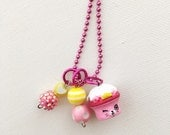 Shopkin Royal Cupcake Season 5 Charm Necklace