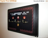ON SALE Legend Of Zelda Key Hanger - COMPLETED Key Hook - Three Hook Version - It's Dangerous Link Gamer Decor