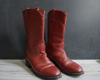 Women's Oxblood Red Boots