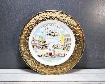 New Orleans Souvenir Plate