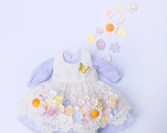 Blythe happiness Flowers dress collection