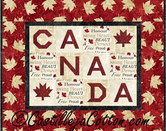 Canada Quilt ePattern 2183-10, canada wall quilt