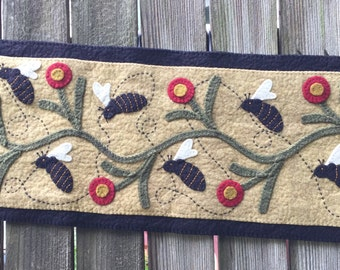 Busy Bees Wool Applique Kit