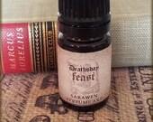 DEATHS DAY FEAST Perfume Oil / Halloween Seasonal / inspired by Harry Potter perfume / Winter Perfume / All Vegan Perfume