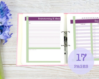 Ultimate Business Planner, printable