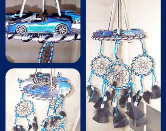 Dream catcher mobile , hot wheels