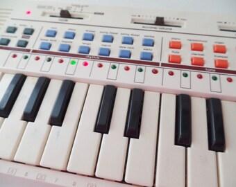 Vintage Casio PT-80 Keyboard Synthesizer Circuit Bending 1980s