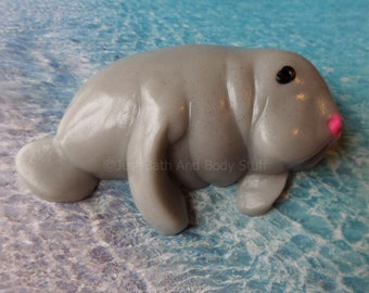 Manatee Soap Bar - You pick scent & color