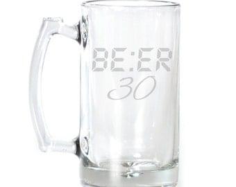 Large Beer Mug - 25 oz. - 2107 Be:er 30