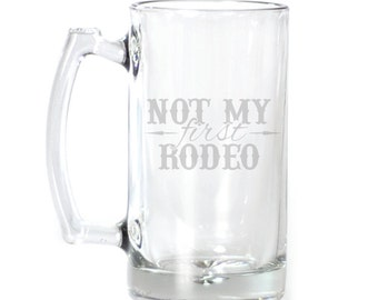 Large Beer Mug - 25 oz. - 8585 Not My First Rodeo